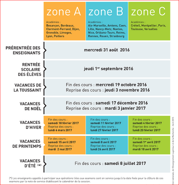 calendrier-scolaire-2016-2017